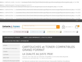 Détails : Cartouches imprimantes de qualité au meilleur prix - Cartouche Premium