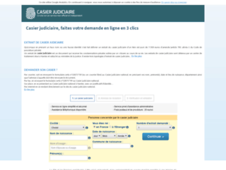 Détails : Faites votre demande de casier judiciaire en 3 clics