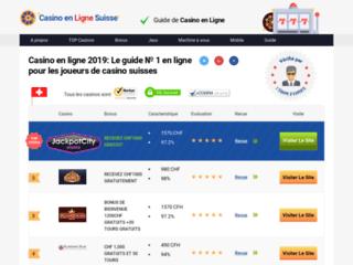 Détails : casinos online suisse