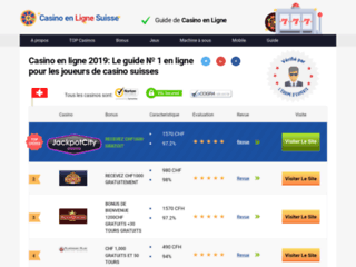casinos online suisse