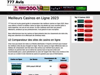 Détails : Casinos Français en Ligne