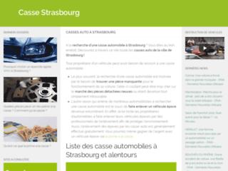 Casse Automobile de Strasbourg : Meilleur centre VHU agréé