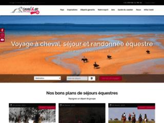 Détails : Caval&go, voyages et randonnées à cheval
