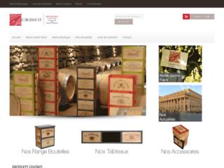 Détails : Cavidéco, fabricant de caisses de vins, Cabanac-et-Villagrains