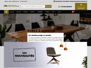 CBC-Meubles la boutique de vente en ligne des meubles