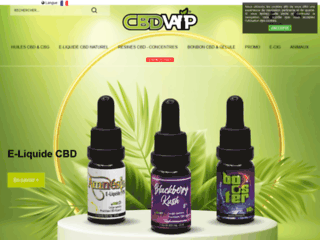 Détails : CBDVAP, vente en ligne de eliquide au CBD