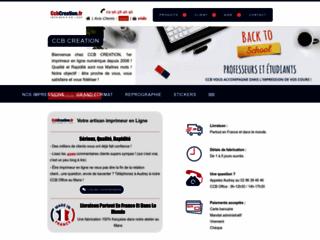 Détails : CCB CREATION  imprimeur numérique