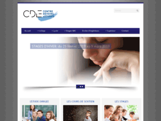 Détails : Stage et préparation aux examuns