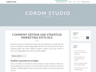 Détails : Cd-rom studio : création de site internet