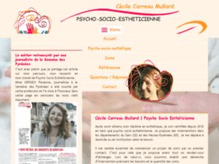 Cécile psycho-socio esthéticienne