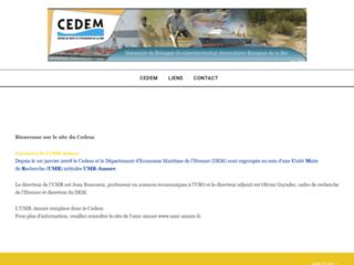 CEDEM : Centre de Droit et d'Economie de la Mer