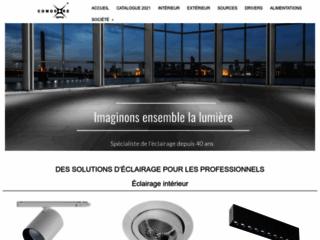 Détails : Comptoir Européen d'Electricité, éclairage professionnel
