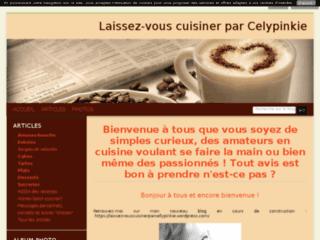 Laissez-vous cuisiner par Celypinkie