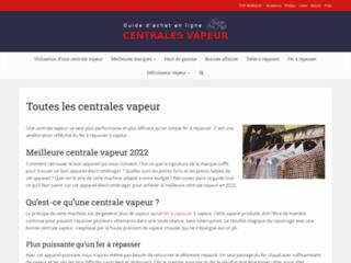 Détails : Acheter une centrale vapeur Bosch