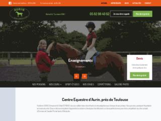 Centre Equestre d'Aurin, près de Toulouse
