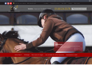 Détails : Centre Equestre de Maurecourt