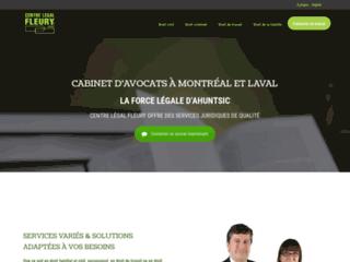 Détails : Avocat criminel Centre Légal Fleury