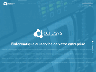 Détails : Informatique Ceresys Access Data Management