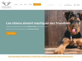 Friandises pour chien :Les meilleures sont chez Cernunos