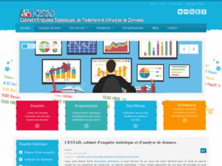 CESTAD, cabinet d'enquêtes statistiques, de traitement et d'analyse de données