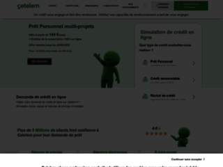 Détails : Agence de credit - Cetelem