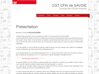 CGT CFAI de SAVOIE