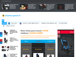 Chaises gamer : Guide d'achat et conseils