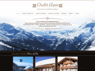 Détails : Chalet Arpin, location de chalet à la Rosière