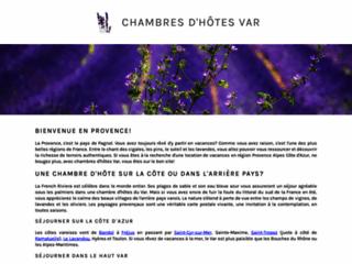 Détails : Chambres d'hôtes Var