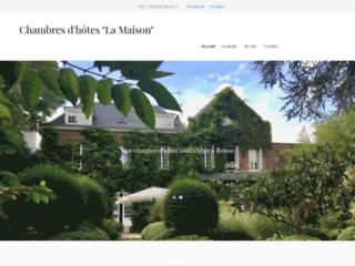 La maison: chambres d'hôtes sur Rouen