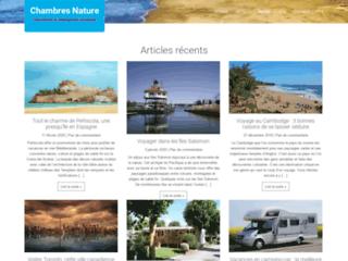 Chambres Nature : destinations et hébergements touristiques
