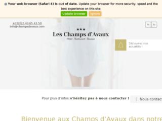 Hôtel Restaurant Les Champs d'Avaux