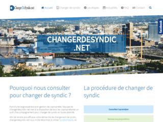 Détails : Changer de Syndic