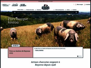 Charcuterie Aubard dans les Pays basques