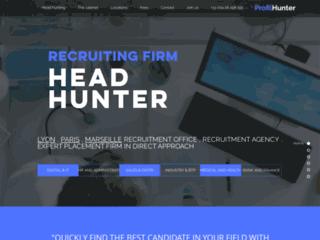 ProfilHunter votre cabinet de recrutement