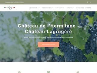 Détails : Vignobles Lopez - Château de l'Hermitage - Château Lagrugère