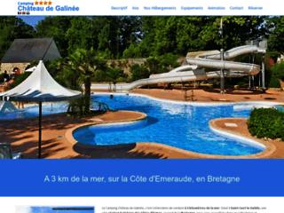 Détails : Camping Chateau de Galinée - Bretagne Nord