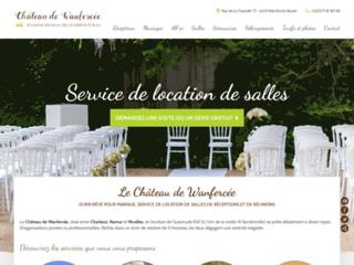 Château de Wanfercée, idéal pour mariages et séminaires