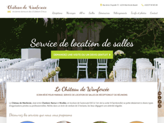 Château de Wanfercée - organisation de mariage