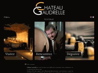Détails : Vin de Vouvray: Chateau Gaudrelle