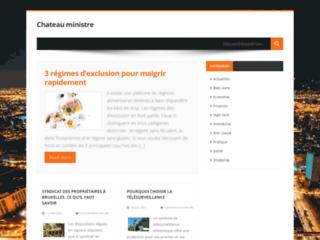 Chateau Ministre, le blog généraliste