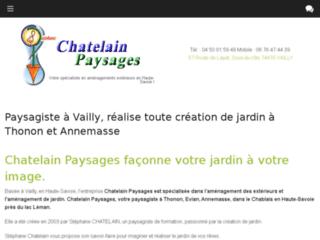 Détails : Chatelain Paysages - Espaces paysagers et piscine