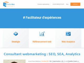 ChatterBox Conseil - Agence webmarketing experte SEO, SEA, Analytics