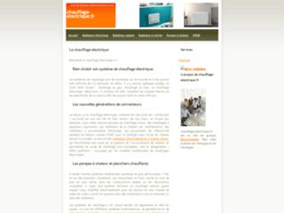 L'annuaire des spécialiste du chauffage électrique