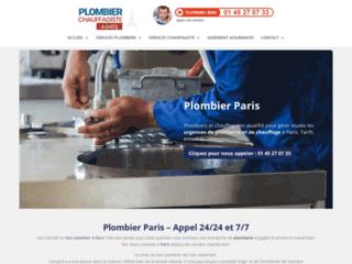 Bon plombier à Paris