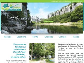 Camping de Chaulet-Plage ***