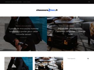 Détails : Chaussure2mec, un blog de conseil et actualité chaussure pour homme