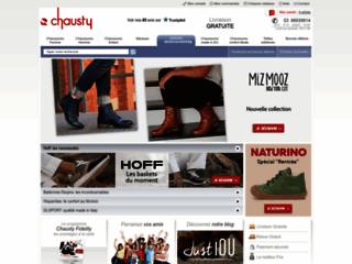 Détails : Chausty: distributeur de chaussures italiennes