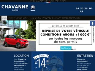 Location voiture sans permis 74 - Chavanne Automobiles