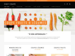 Boutique d'Accessoires & Ustensiles de Découpes pour Fruits & Légumes